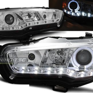 faruri drl led dayline mitsubishi lancer 8