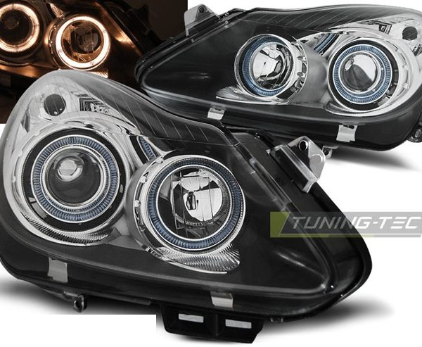 faruri angel eyes led opel corsa d