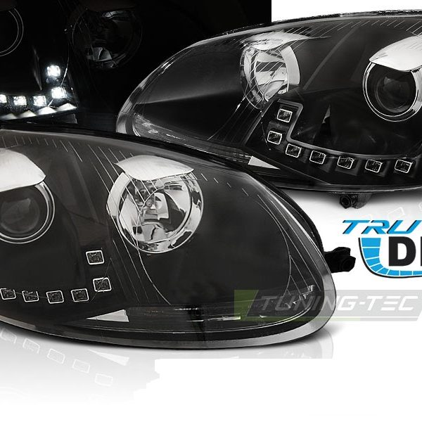 faruri led drl daylight vw golf 5 gti