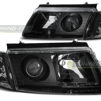 faruri drl led angel eyes vw passat b5 3b