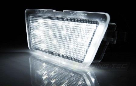 lampa numar led opel astra g