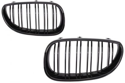 nari grile capota duble negru lucios m5 bmw e60