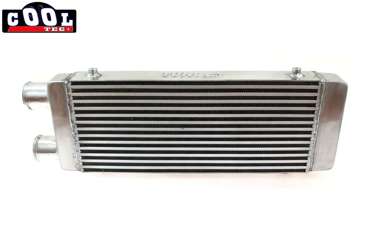 intercooler frontal tuning universal 550x230x65 intrare iesire aceeasi parte