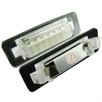 lampa numar led mercedes c class w203