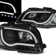 Faruri AUDI A3 8P 03-08 DAYLIGHT BLACK