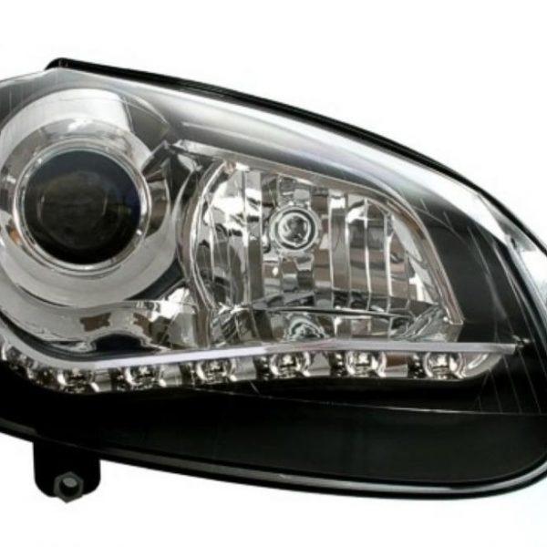 Faruri LED VW Golf 5 DRL Daylight Lupa Bifazica